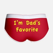 I'm dad's favorite Women's Boy Brief