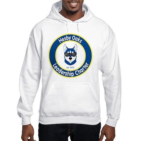 Informal Hesby Oaks Logo Hooded Sweatshirt