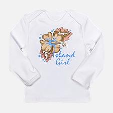 Island Girl Long Sleeve Infant T-Shirt