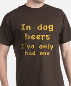 In dog beers I've only had one T-Shirt