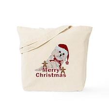 Cockapoo Christmas Tote Bag