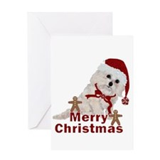 Cockapoo Christmas Greeting Card