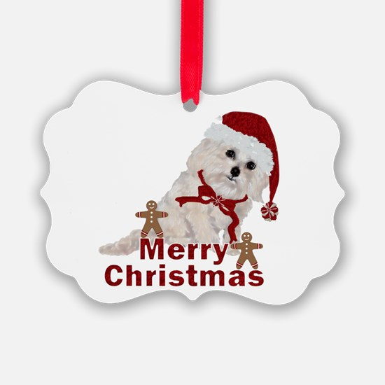 Cockapoo Christmas Ornament