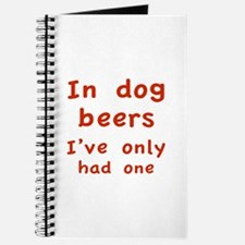 In dog beers I've only had one Journal