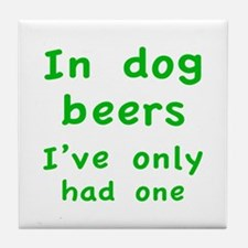 In dog beers I've only had one Tile Coaster
