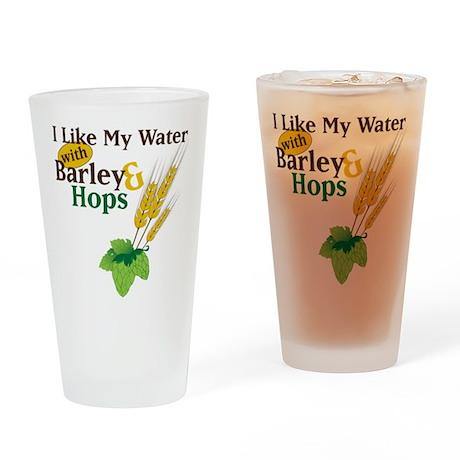 I Like My Water Drinking Glass