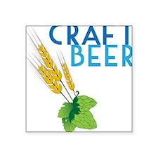 "Craft Beer Square Sticker 3"" x 3"""