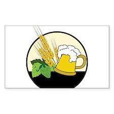 Beer Club Logo Decal