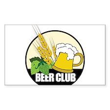 Beer Club Decal