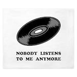 Nobody Listens Vinyl King Duvet