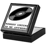 Nobody Listens Vinyl Keepsake Box