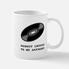 Nobody Listens Vinyl Mug