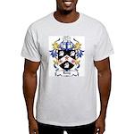 Leny Coat of Arms Ash Grey T-Shirt