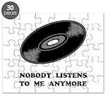 Nobody Listens Vinyl Puzzle