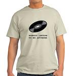 Nobody Listens Vinyl Light T-Shirt