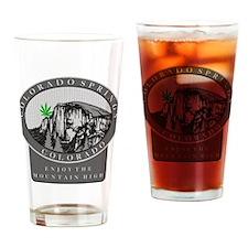 Colorado Spring Cannabis Drinking Glass