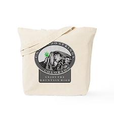 Colorado Spring Cannabis Tote Bag