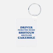 Shotgun shuts his Cakehole Keychains