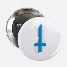 """Finland map flag 2.25"""" Button (100 pack)"""