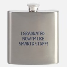 I graduated. Now I'm like smart and stuff! Flask