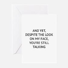 Still Talking Greeting Cards (Pk of 10)