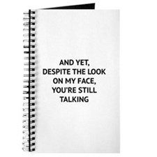 Still Talking Journal