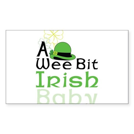 A Wee Bit Sticker (Rectangle)