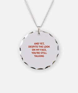 Still Talking Necklace