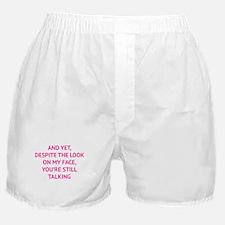 Still Talking Boxer Shorts