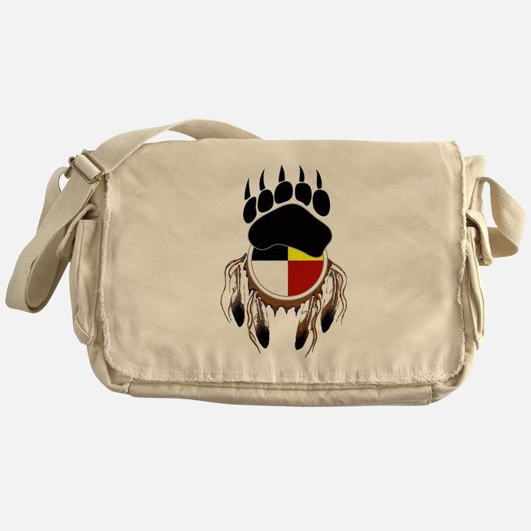 Circle Of Courage Messenger Bag