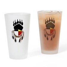 Circle Of Courage Drinking Glass