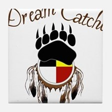 Dream Catcher Tile Coaster