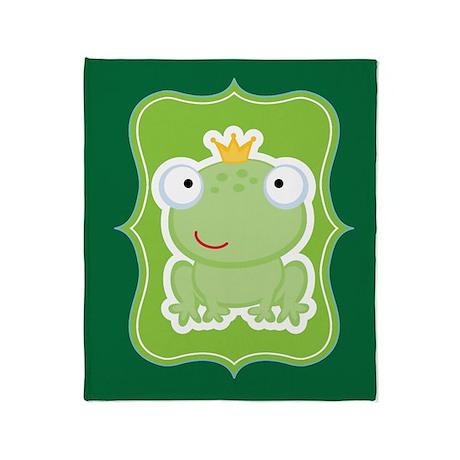 Frog Fairytale Throw Blanket