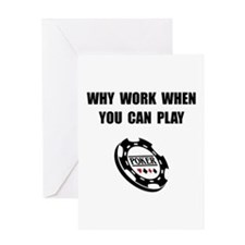 Play Poker Greeting Card