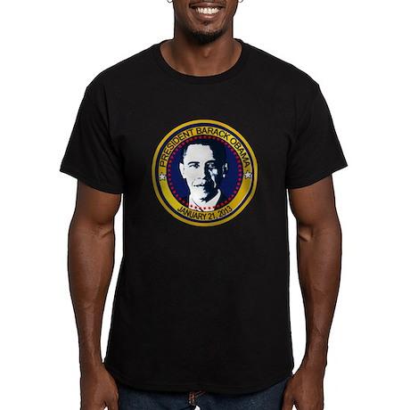 Obama Inauguration 2013 Men's Fitted T-Shirt (dark