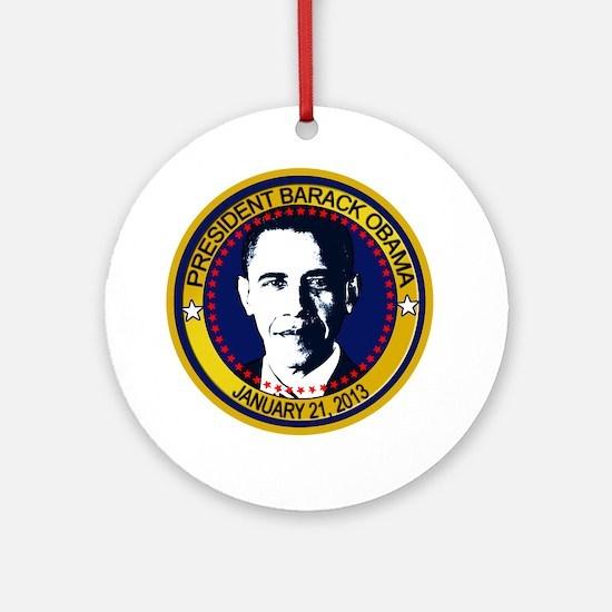 Obama Inauguration 2013 Ornament (Round)