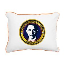 Obama Inauguration 2013 Rectangular Canvas Pillow