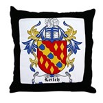 Leitch Coat of Arms, Family C Throw Pillow