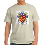 Leitch Coat of Arms, Family C Ash Grey T-Shirt
