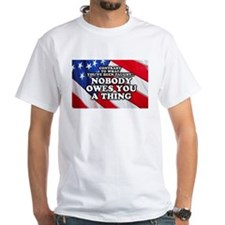 Nobody Owes You A Thing W/ Flag Shirt