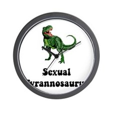Sexual Tyrannosaurus Wall Clock