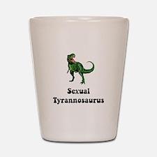 Sexual Tyrannosaurus Shot Glass