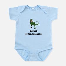 Sexual Tyrannosaurus Infant Bodysuit