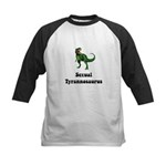 Sexual Tyrannosaurus Kids Baseball Jersey