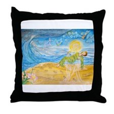 It Was Then That I Carried You Throw Pillow