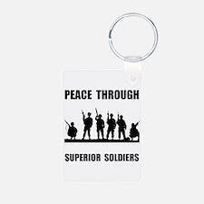 Superior Soldiers Keychains