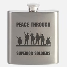 Superior Soldiers Flask