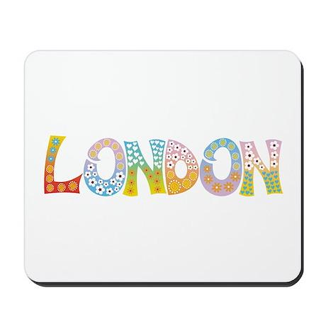 London Patch Mousepad