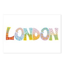 London Patch Postcards (Package of 8)