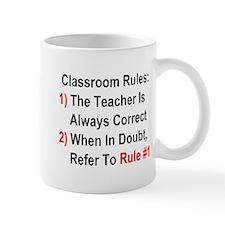 Classroom Rules Mug
